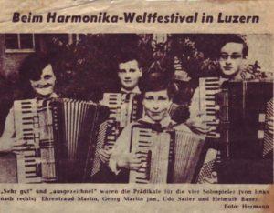 Harmonika Weltmeisterschaft Luzern